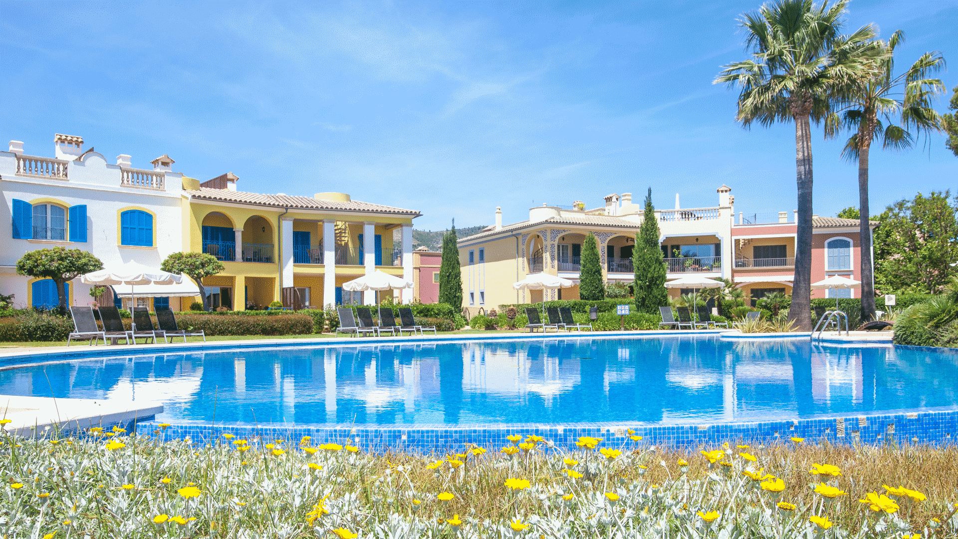 Holiday home abroad